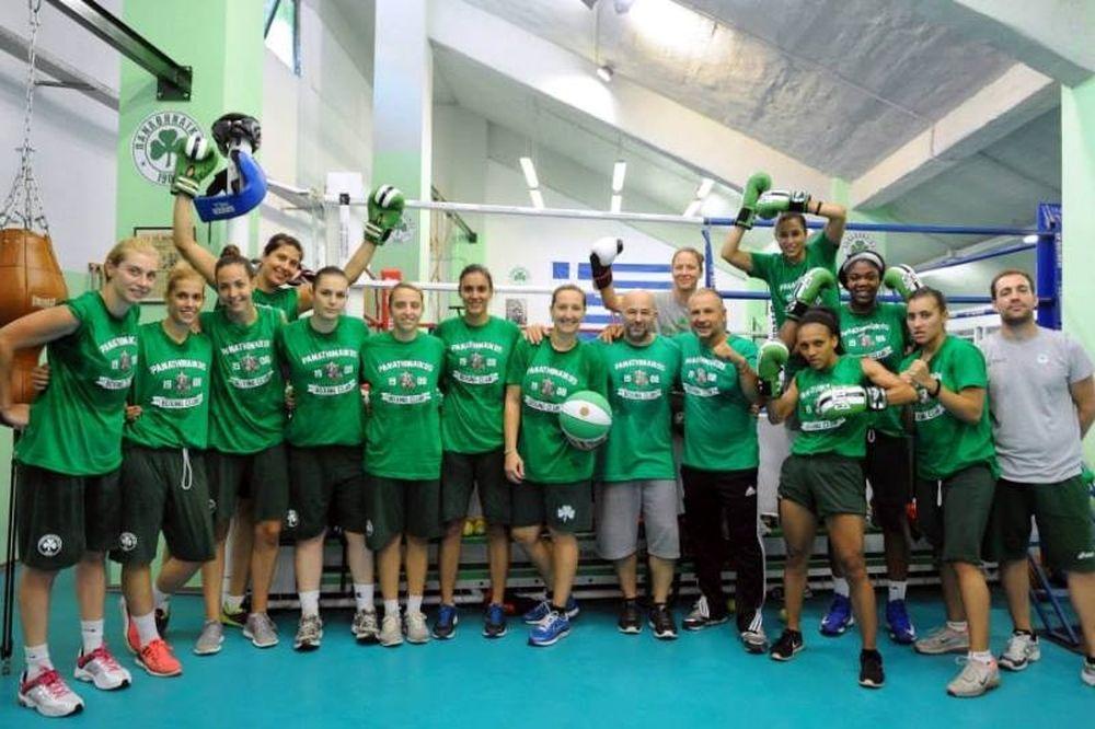 Παναθηναϊκός: Οι «πράσινες» μποξέρ (photos)