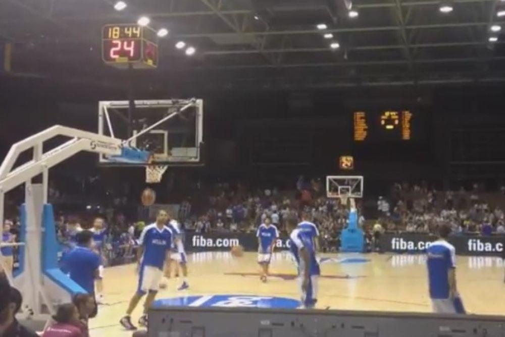 Mundobasket 2014: Η προθέρμανση της Ελλάδας (video)
