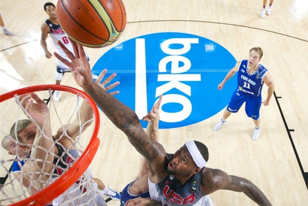 Παγκόσμιο Κύπελλο Μπάσκετ 2014: «Μπλόκαραν» τις ΗΠΑ οι Φινλανδοί (video)