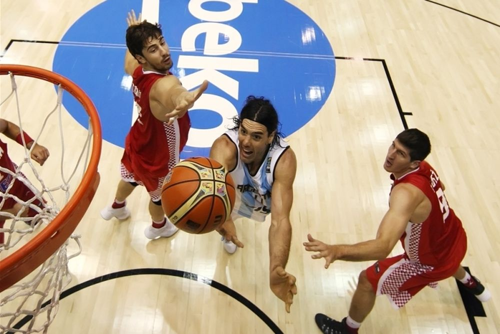 Mundobasket 2014: Αργεντινή - Κροατία 85-90 (photos)