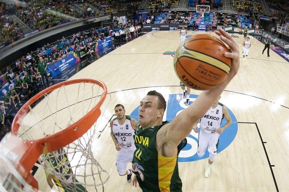 Μουντομπάσκετ 2014: «Φυσάνε» Λιθουανία και Βαλαντσιούνας (videos)