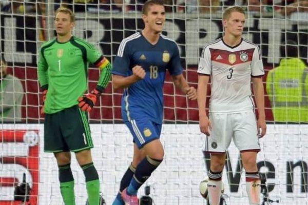 Χάλασε τη φιέστα της Γερμανίας η Αργεντινή (video+photos)