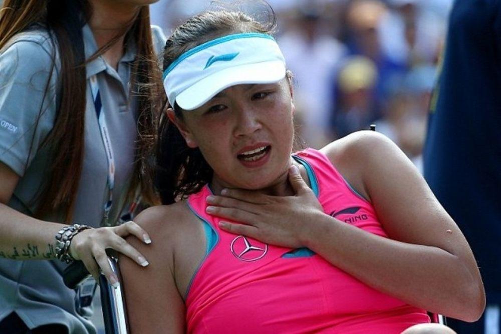 US Open: Με καροτσάκι αποσύρθηκε η Πενγκ (photos+videos)