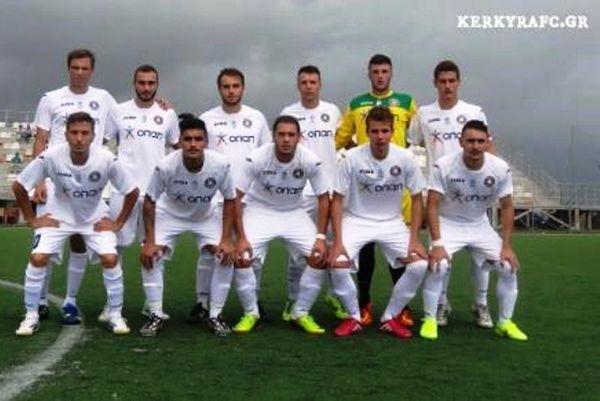Κέρκυρα-Πανθρακικός 1-1 (Κ20)