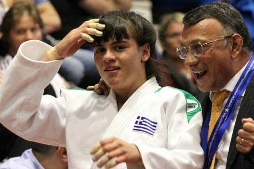 Ευρωπαϊκό Τζούντο U21: «Χάλκινη» η Τελτσίδου