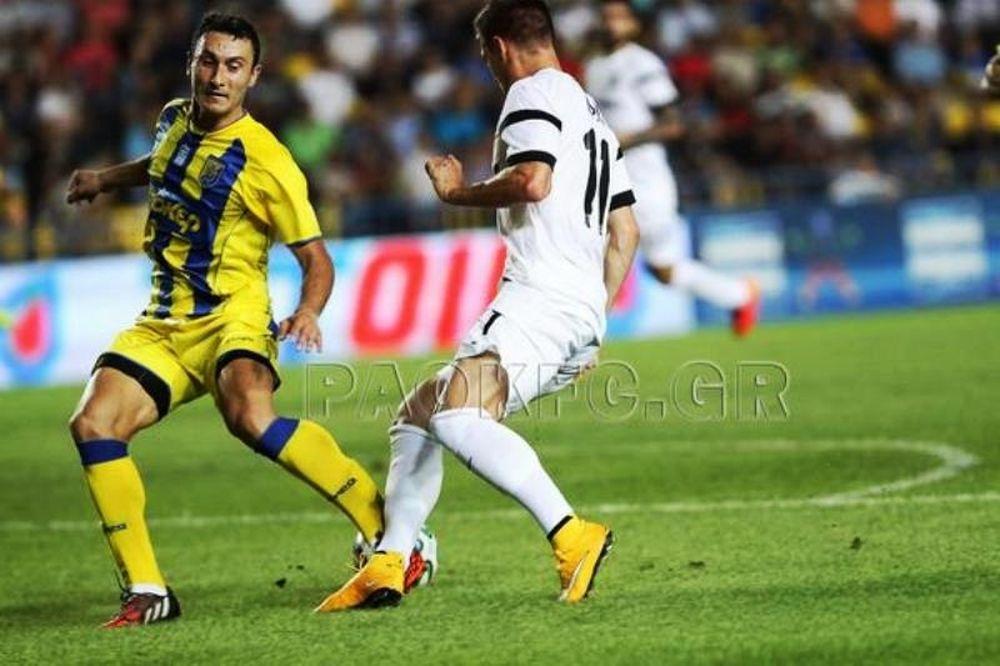 Παναιτωλικός-ΠΑΟΚ 0-1