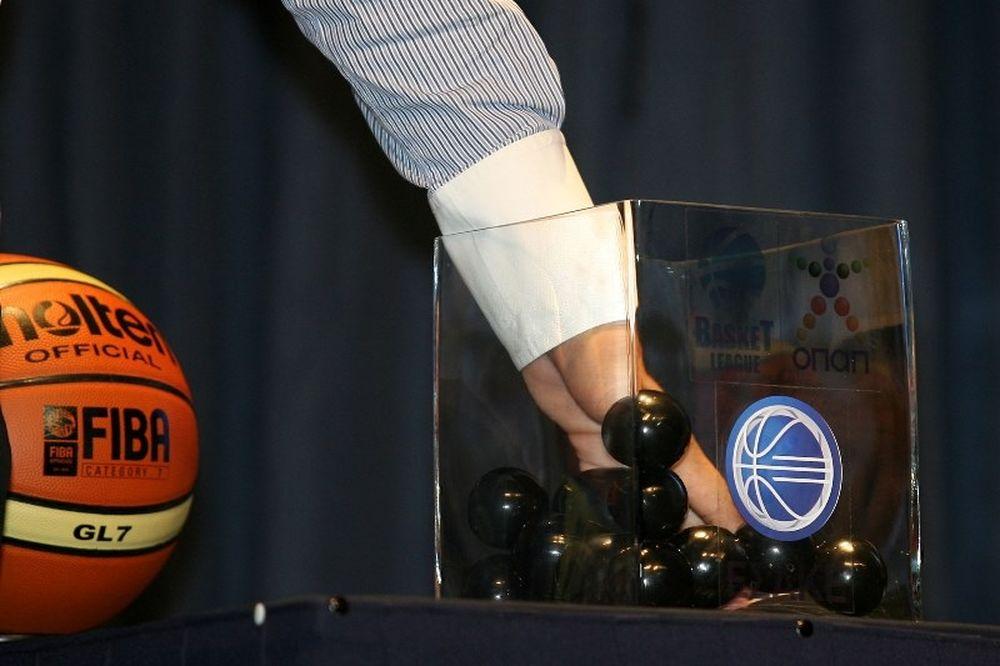Η κλήρωση της Basket League ΟΠΑΠ