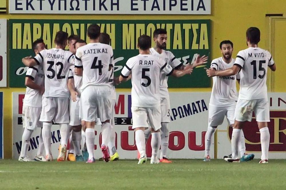 Παναιτωλικός – ΠΑΟΚ 0-1: Το γκολ και οι καλύτερες φάσεις (video)