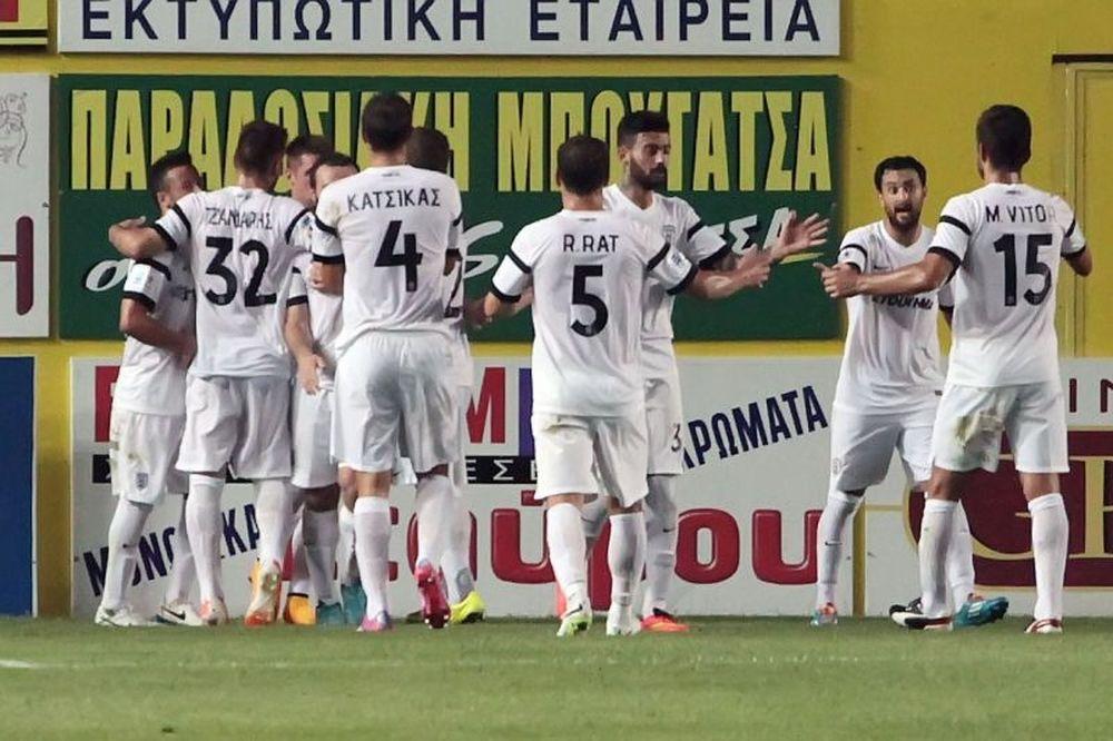 Παναιτωλικός – ΠΑΟΚ 0-1: Το γκολ του αγώνα (video)