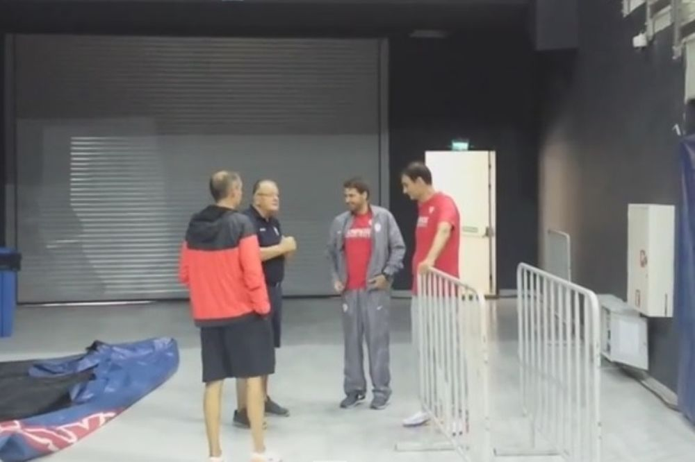 Ολυμπιακός: Τα είπαν με Ίβκοβιτς (video)