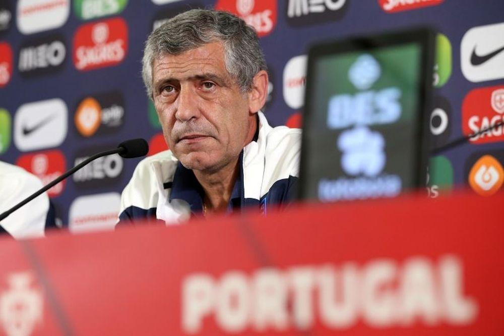 Πορτογαλία: Σάντος κι επίσημα!