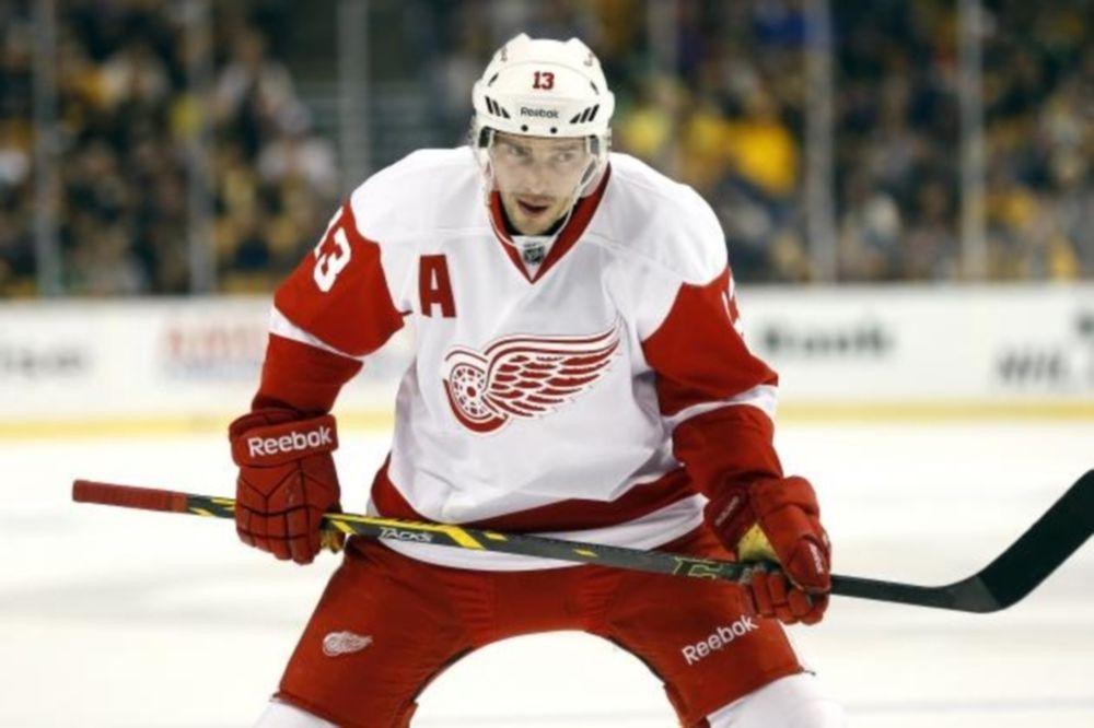 NHL: Ένα μήνα έξω ο Pavel Datsyuk