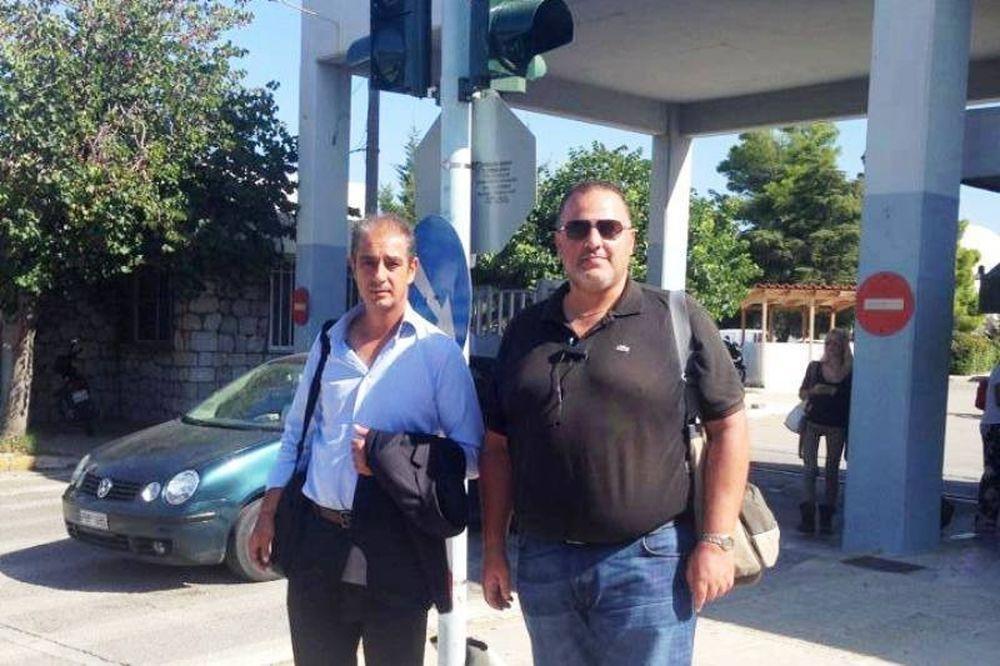 Ηρόδοτος: Επίσκεψη στον οπαδό του Εθνικού