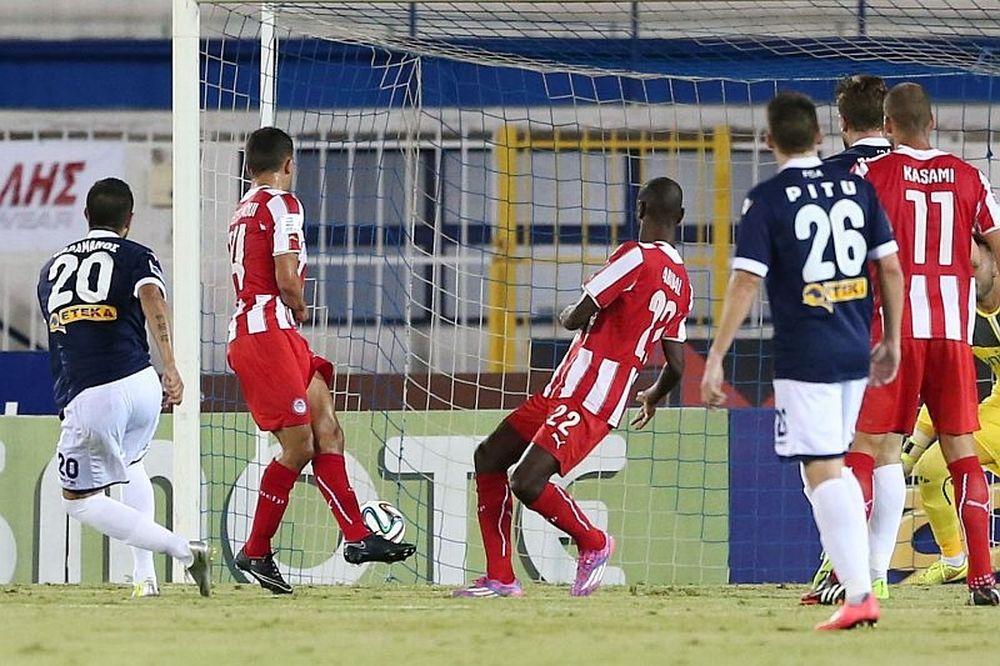 Ατρόμητος - Ολυμπιακός 1-0 (video+photos)