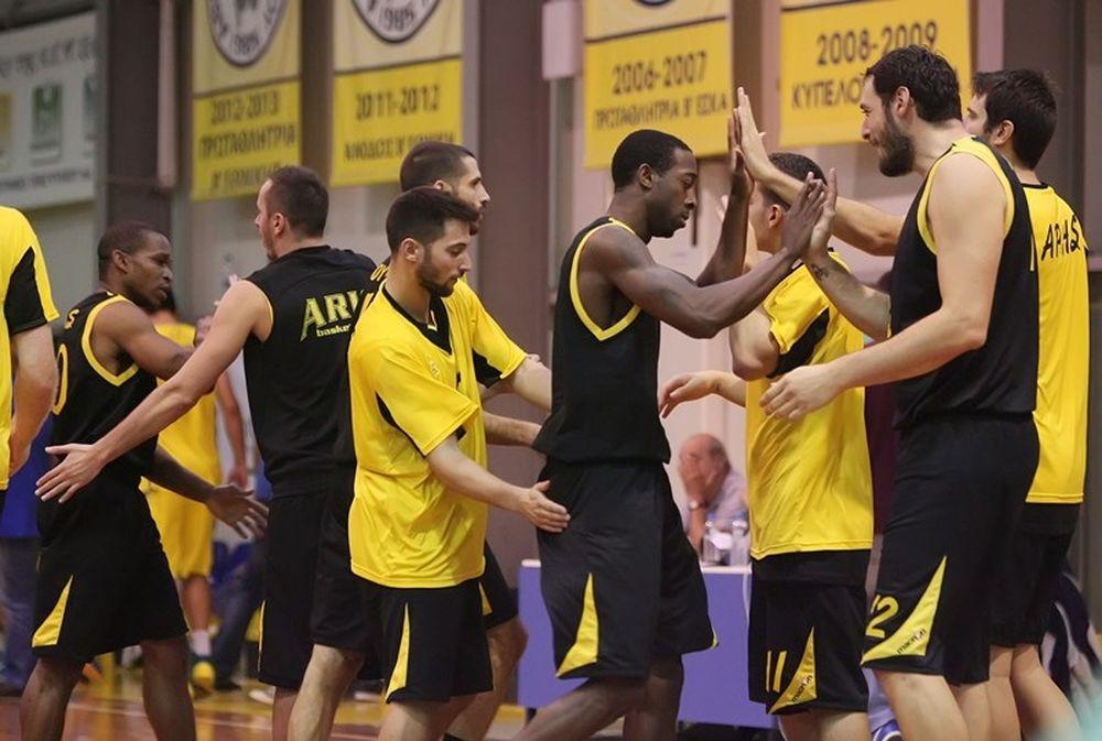 Κύπελλο Μπάσκετ Ανδρών: Πέρασαν Άρης, Απόλλων και Κόροιβος (photos)