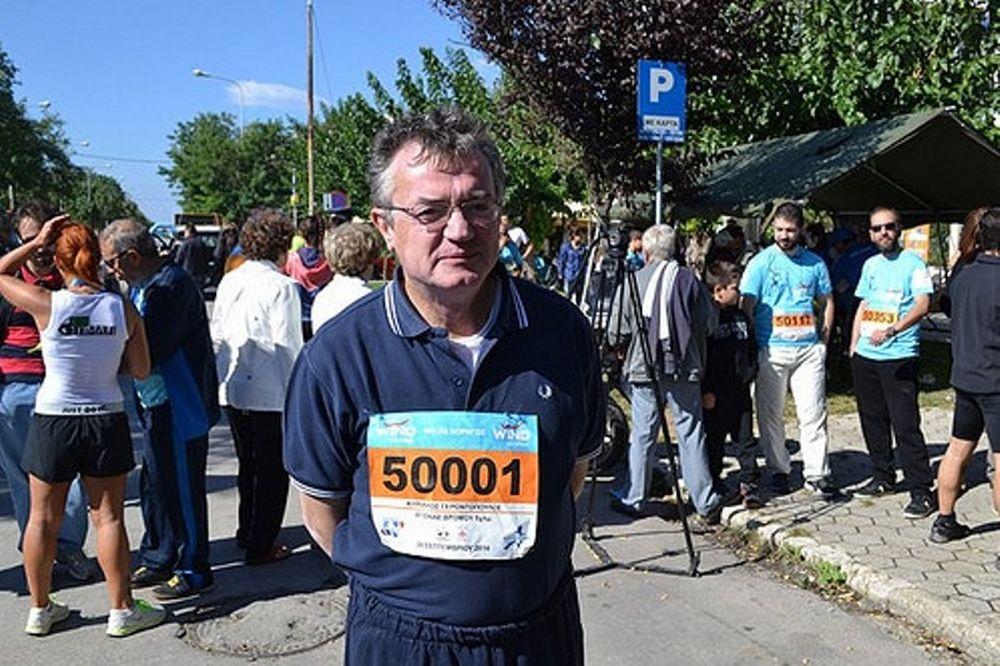Συμμετείχε στο Run Greece o Άκης Γεροντόπουλος
