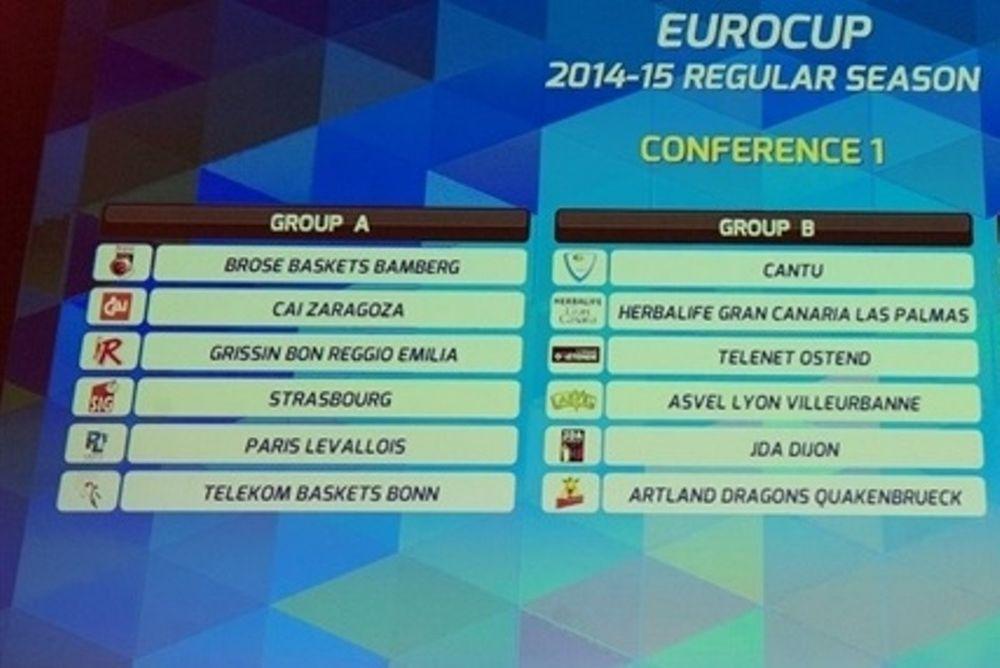 Eurocup: Το πρόγραμμα των αντιπάλων του ΠΑΟΚ
