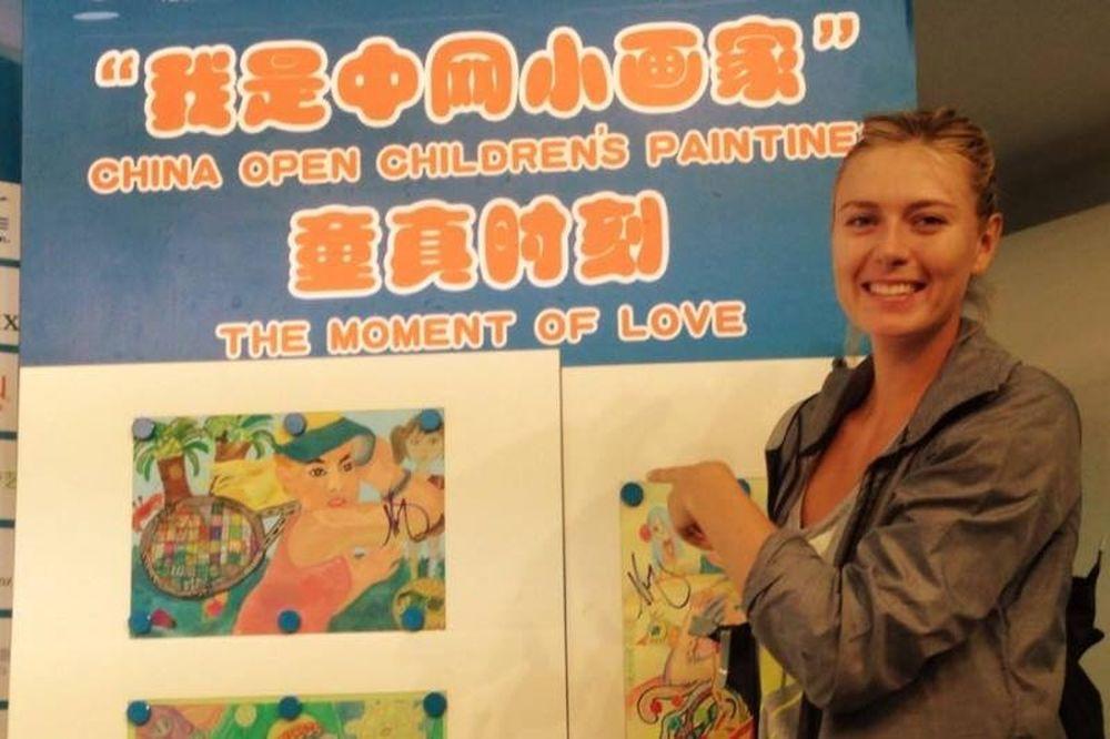 Όπεν Κίνας: Άνετα Σερένα και Σαράποβα