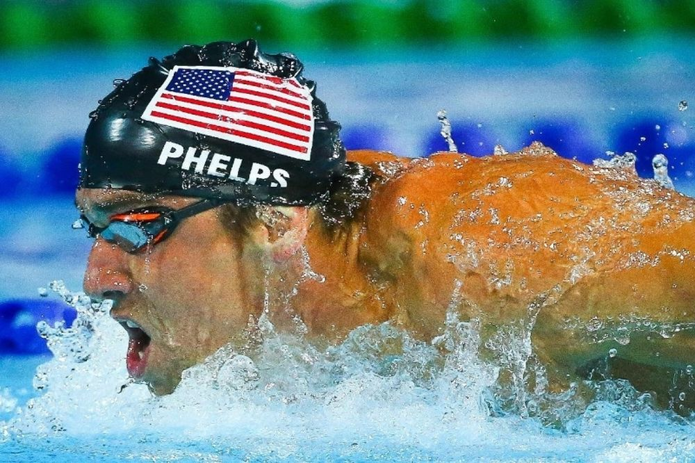 Κολύμβηση: Νέα σύλληψη του Μάικλ Φελπς