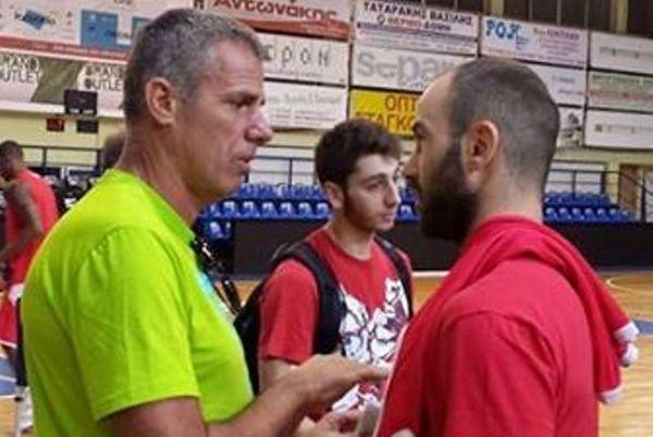 Ολυμπιακός: Τετ - α - τετ Σπανούλη – Σούμποτιτς (photo)