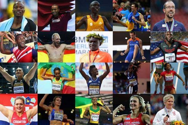 IAAF: Οι υποψήφιοι για τους κορυφαίους του 2014