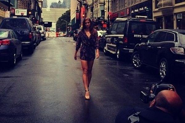 Άλεξ Μόργκαν: Σταμάτησε την κίνηση στη Νέα Υόρκη (photo)