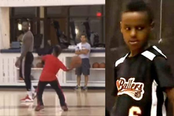 Λεμπρόν Τζέιμς: Απίστευτο καλάθι από τον 10χρονο γιο του! (video)