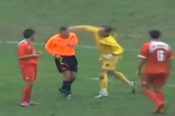 Βοσνία: Τερματοφύλακας γρονθοκόπησε διαιτητή! (video)