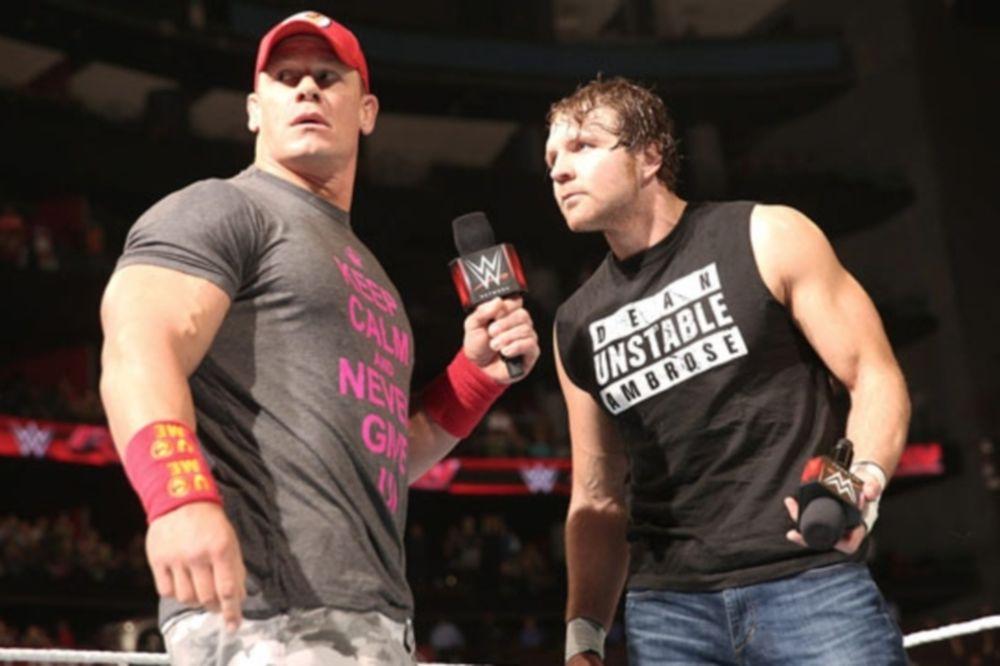 Raw: Πρόωρη σύγκρουση Cena με Ambrose (photos+videos)