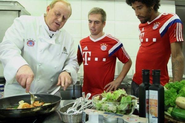 Μαθήματα μαγειρικής Λαμ και Ντάντε (video+photos)