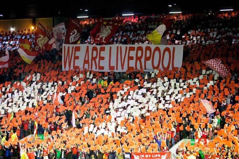 Champions League: Τα φώτα στο «Άνφιλντ»