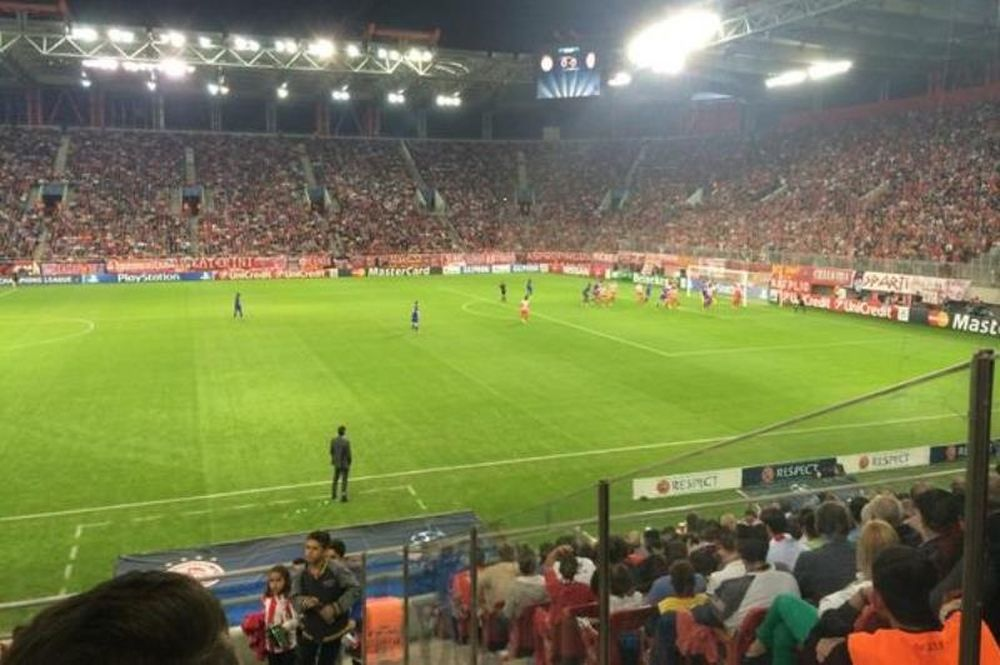Ολυμπιακός: Αποθέωσε Ρομπέρτο και ο Ντάρντεν! (photos)