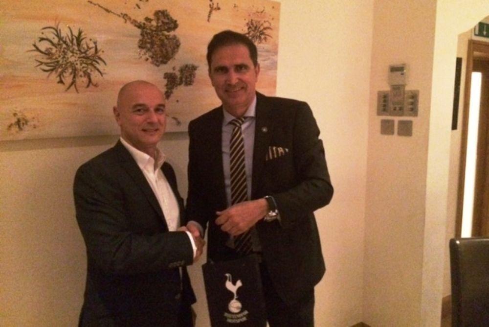 Αστέρας Τρίπολης: Δείπνο με την Τότεναμ