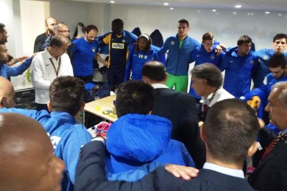 Τότεναμ-Αστέρας Τρίπολης: Όρκος... νίκης στα αποδυτήρια (photos)