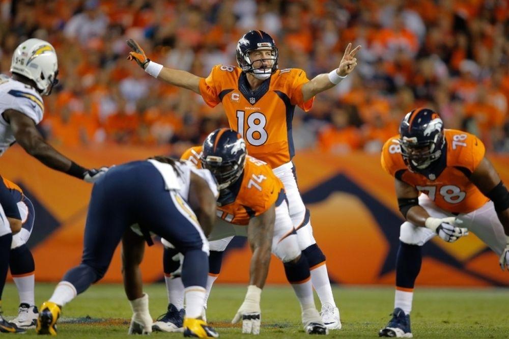 NFL: Τρία touchdowns για Manning, έκτη νίκη για Μπρόνκος (videos)
