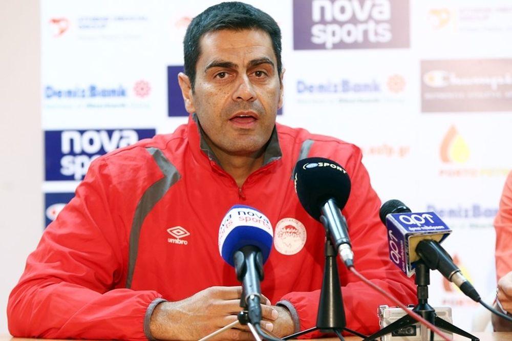 Καζάζης: «Ο Ολυμπιακός δεν θα κρυφτεί, είναι το φαβορί»