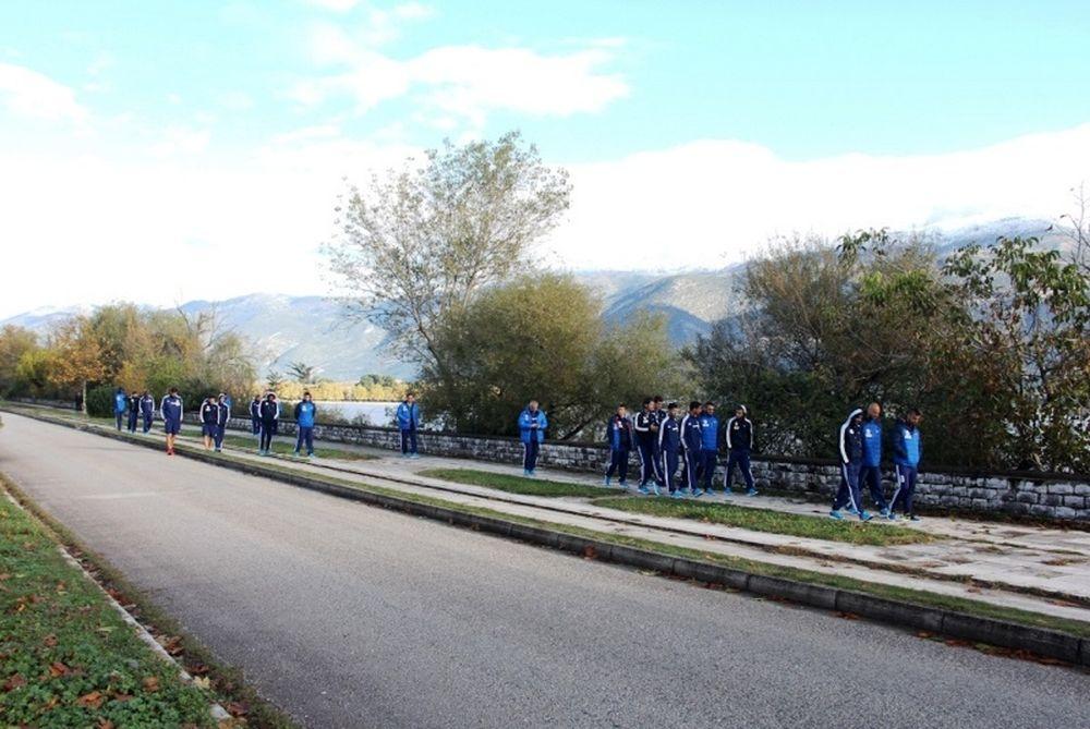 ΑΕΛ Καλλονής: Πρωινός περίπατος στη λίμνη (photos)