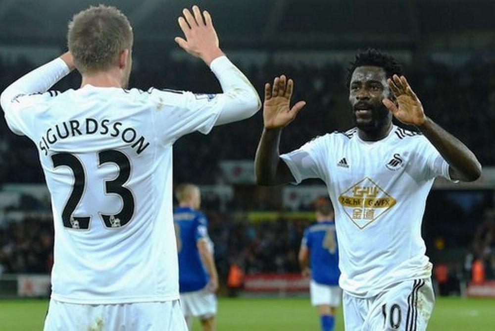 Επιτέλους νίκη για Σουόνσι, 2-0 τη Λέστερ (video)