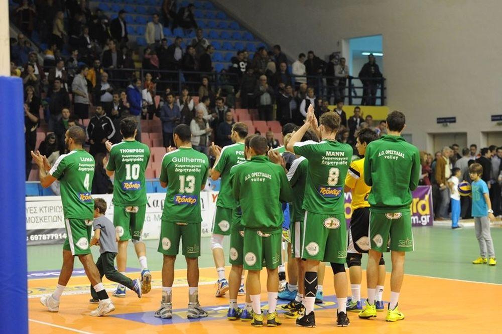 Volleyleague: Ιστορική νίκη για Ορεστιάδα μετά από επτά χρόνια
