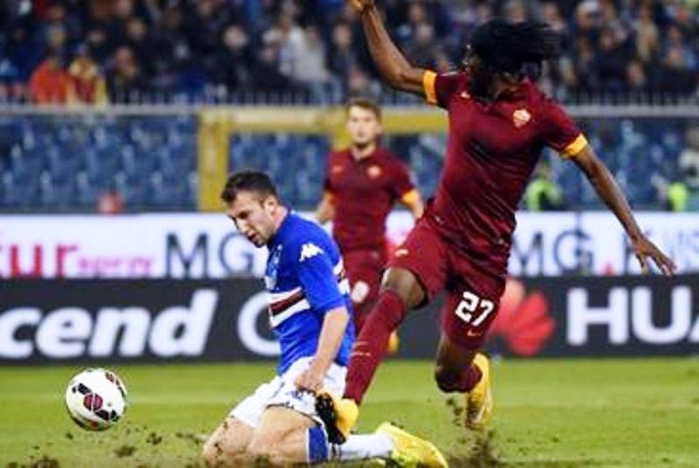 Γκέλα για Ρόμα, 0-0 με Σαμπντόρια