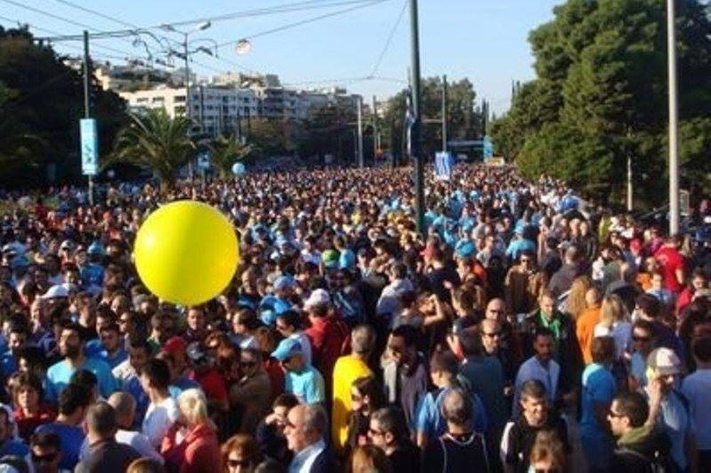 32ος Μαραθώνιος Αθήνας, ο Αυθεντικός: Ρεκόρ εθελοντών
