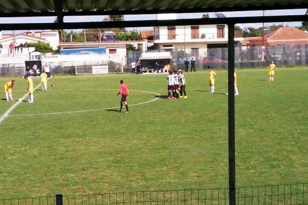 Δόξα Μανωλάδας-Αιολικός 1-0