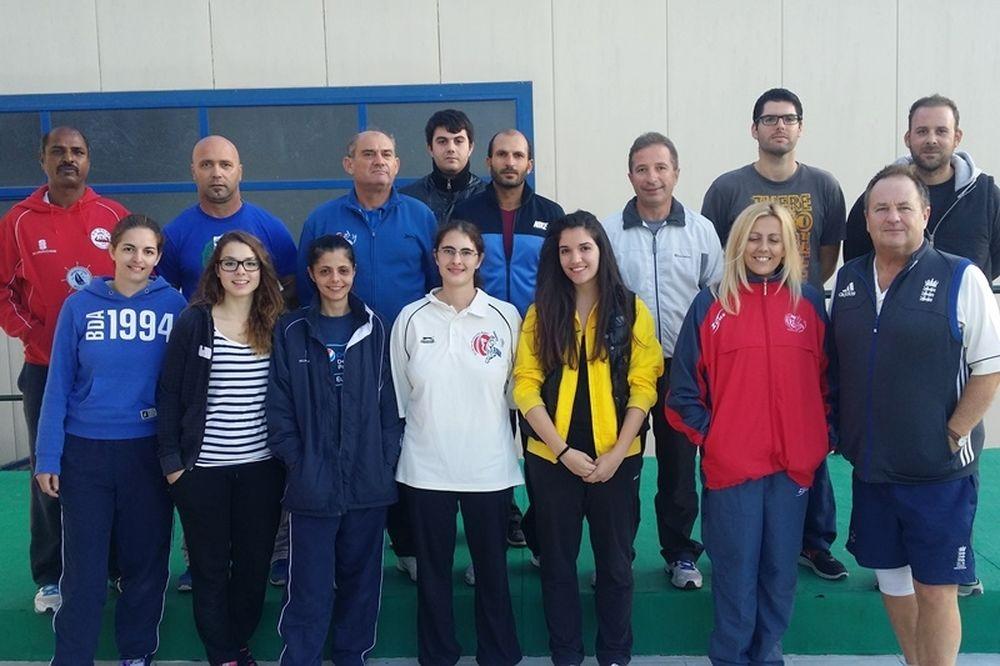 Κρίκετ: Σχολή προπονητών και διαιτητών (photos)