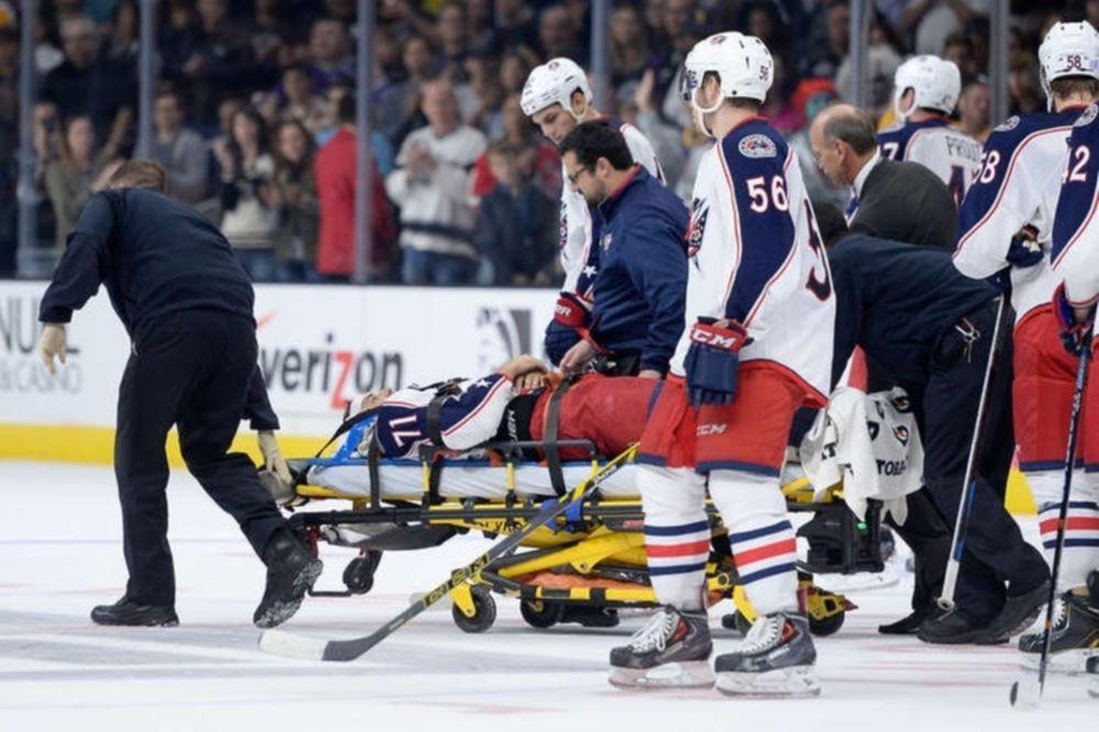 NHL: Τρομακτικός τραυματισμός του Foligno (videos)