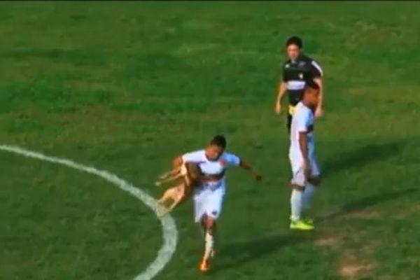 Βραζιλία: Σκύλος δάγκωσε ποδοσφαιριστή και εκείνος σκόραρε! (video)