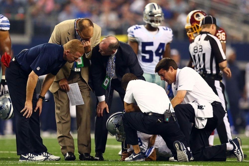 NFL: Αμφίβολος ο Tony Romo για τους Καουμπόις