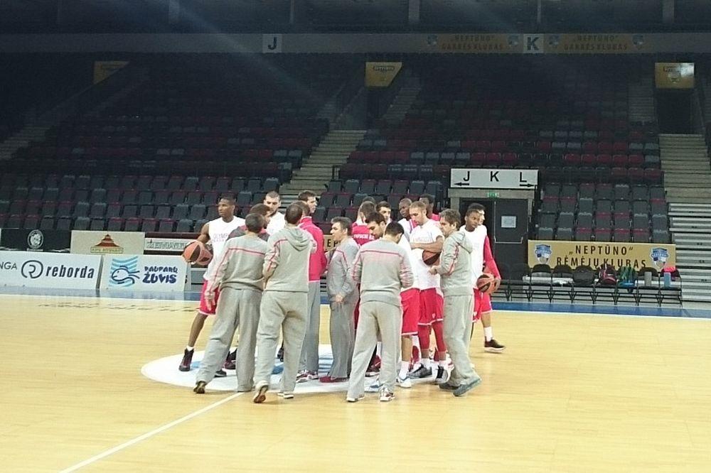Ολυμπιακός: Με δύο πρώην στη «Svyturio Arena» (photos)