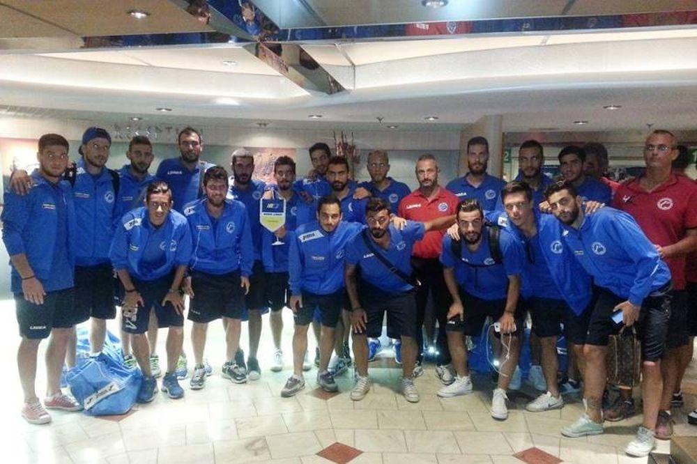 Κισσαμικός: Στην Αθήνα με 18 παίκτες
