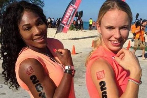 Σερένα - Βοζνιάκι: Τρίαθλο στις Μπαχάμες! (photos)