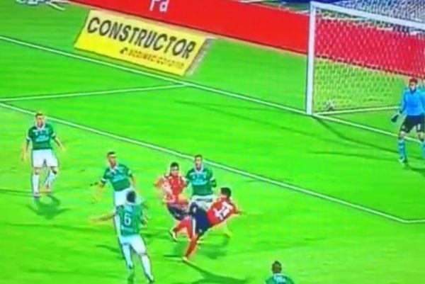 Κολομβία: Συγκλονιστικό γκολ χωρίς να σκάσει η μπάλα! (video)